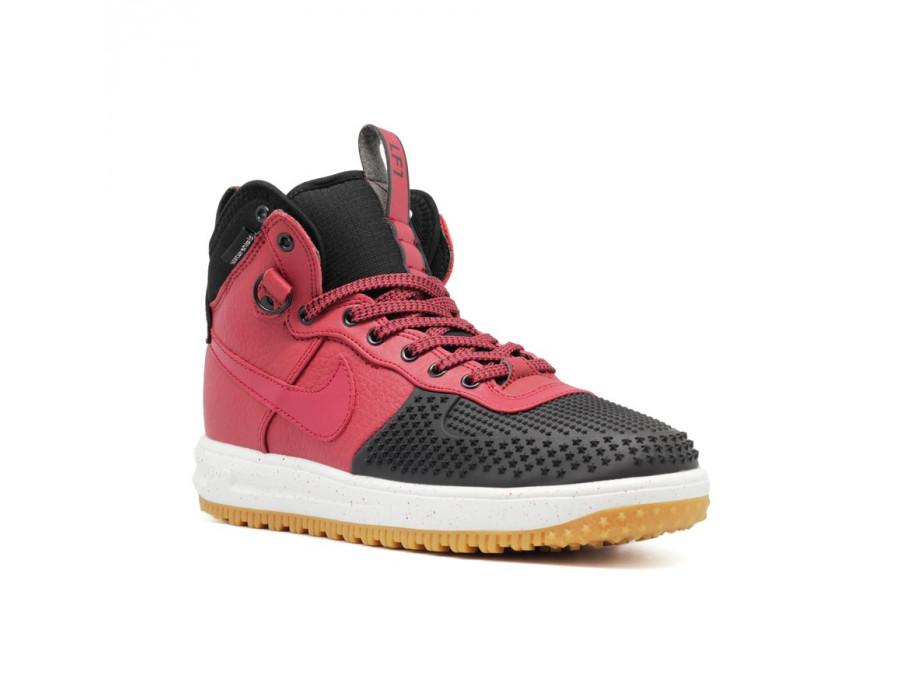 Мужские кроссовки Nike Lunar Force 1 DUCKBOOT Black Burgundy