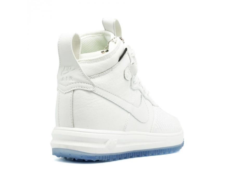 Мужские кеды Nike Lunar Force 1 DUCKBOOT белые
