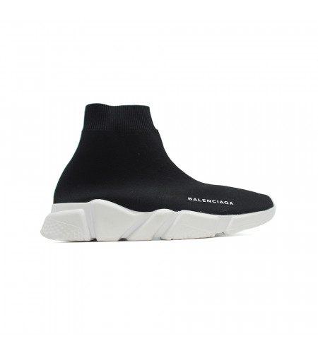 Мужские баленсиага кроссовки носки черно белые
