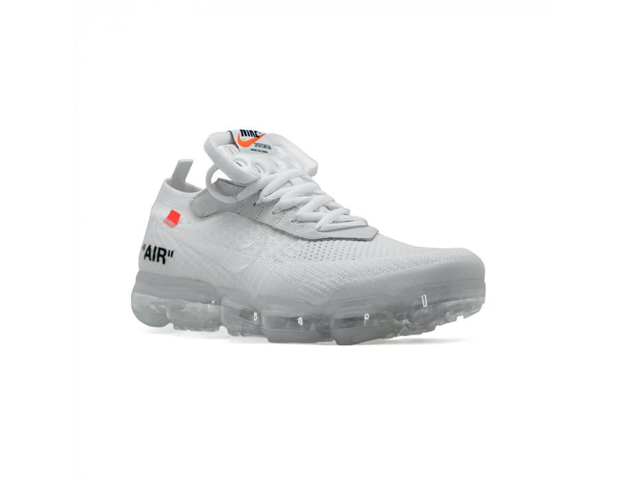 Мужские кроссовки Nike Vapormax x OFF White The Ten  White за 6790 рублей!