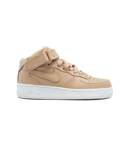 Женские кеды NikeLab Air Force 1 Mid Women Vachetta Tan