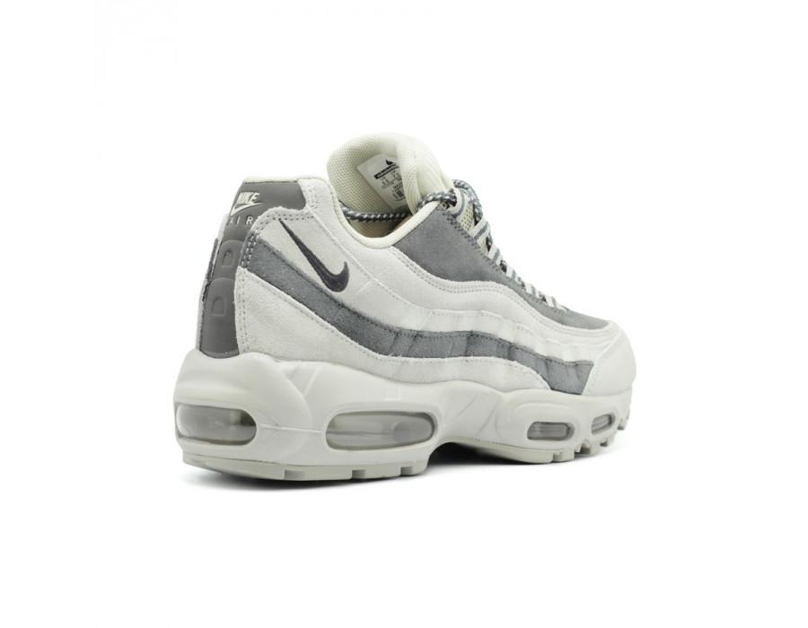 Мужские кроссовки Nike Air Max 95 Grey-White
