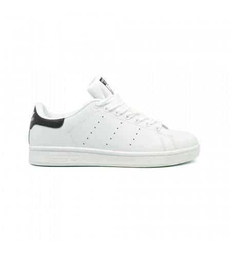 Женские кеды Adidas Stan Smith Leather белые