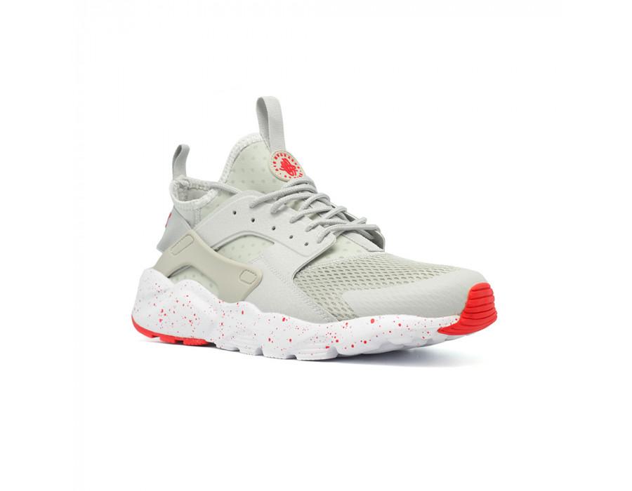 Мужские кроссовки Nike Air Huarache Ultra Grey-Red