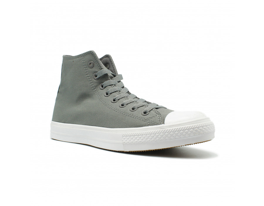 Мужские кеды Converse All Star ll Chuck Taylor High Grey серые