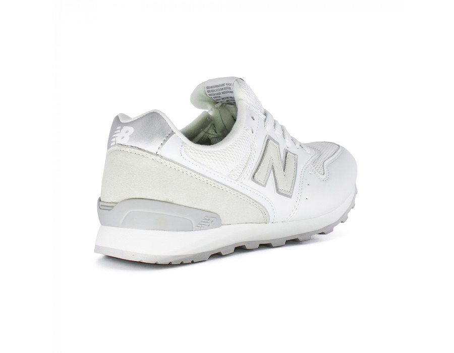New Balance Женские 996 White Pearl Leather