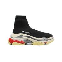 Мужские  кроссовки Balenciaga Speed Trainer Triple S B Black