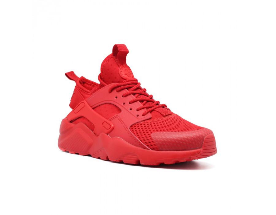 Женские кеды Nike Air Huarache Ultra красные