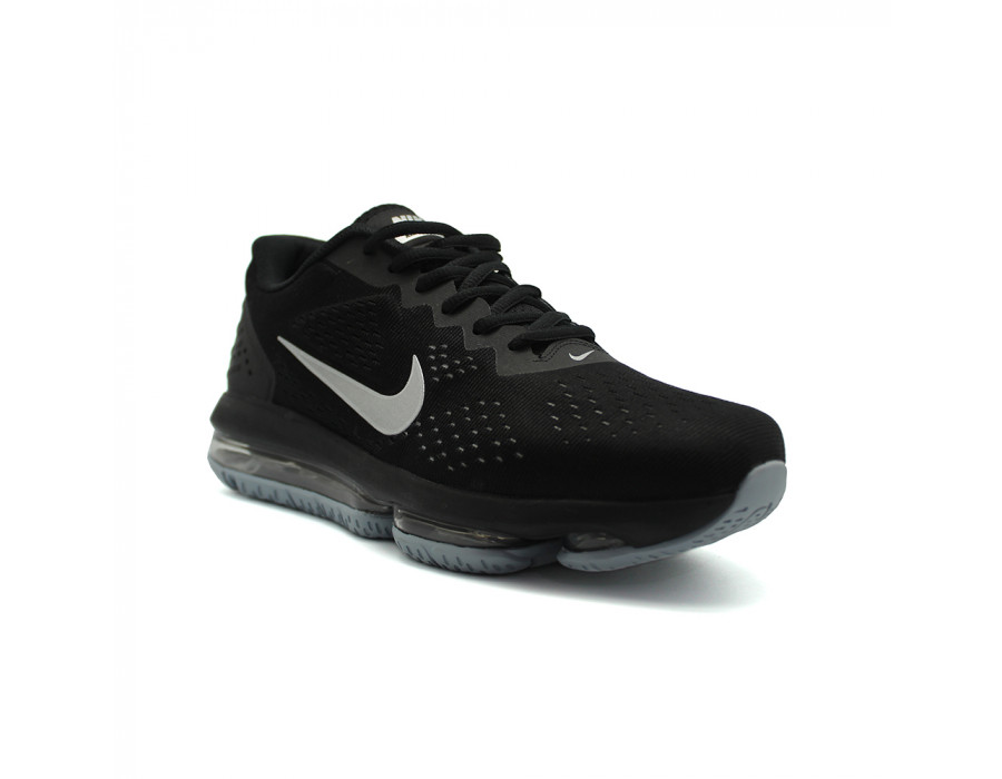 Закажите с доставкой Мужские кроссовки Nike Air Max 2018 Black-Silver