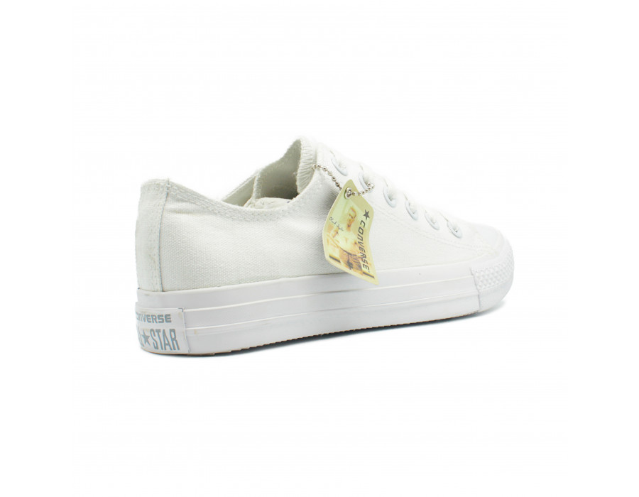 Женские кеды Converse All Star Chuck Taylor Low White белые