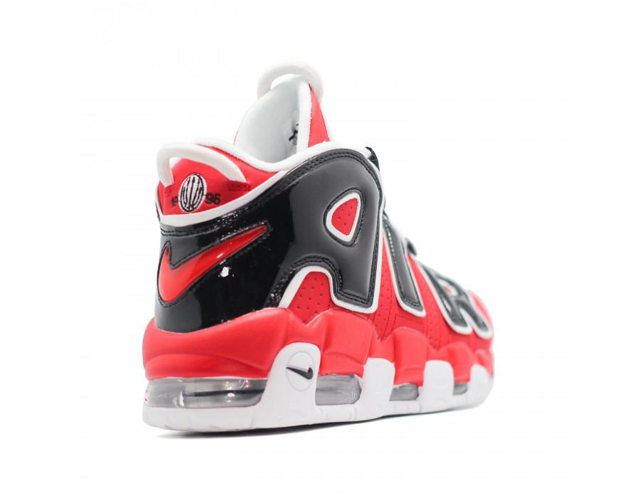 Мужские кеды Nike Air Max Uptempo 96 красно черные
