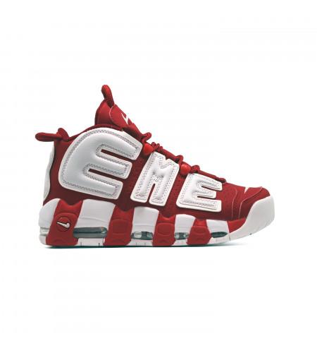 Женские кеды Nike Air Max Uptempo 96 красно белые