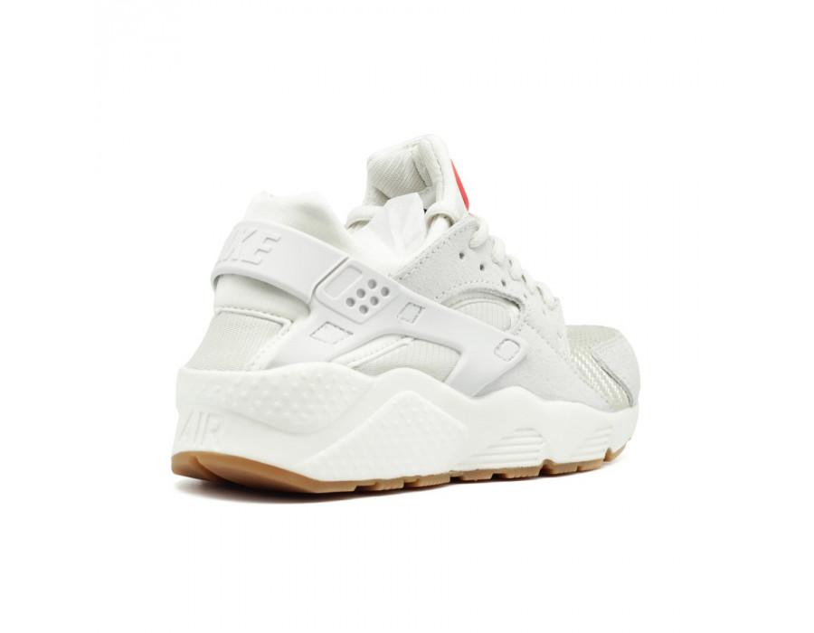 Женские кеды Nike Air Huarache Premium бежевые