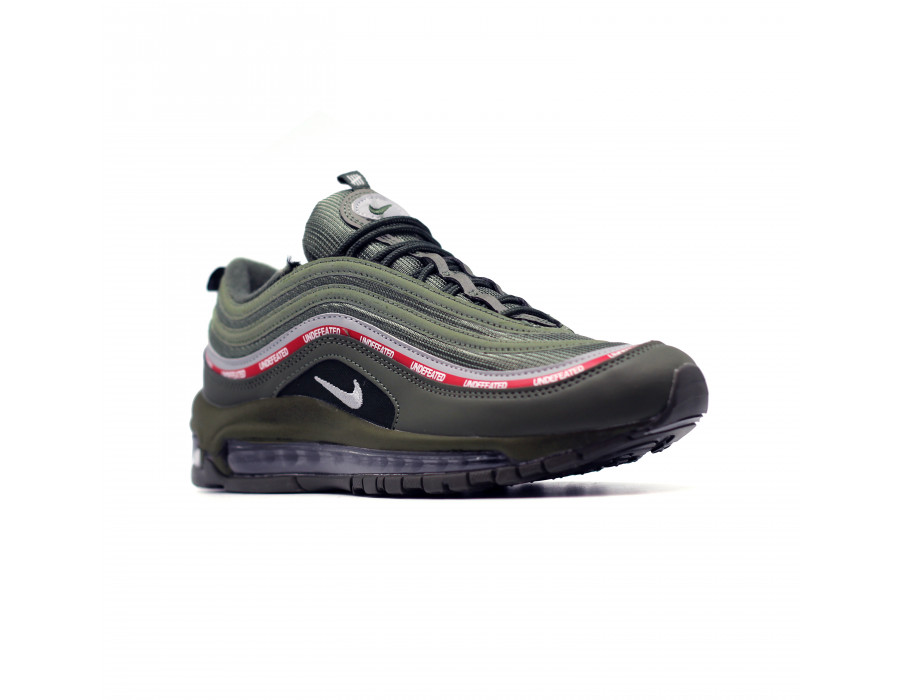 Женские кеды Nike Air Max 97 зеленые