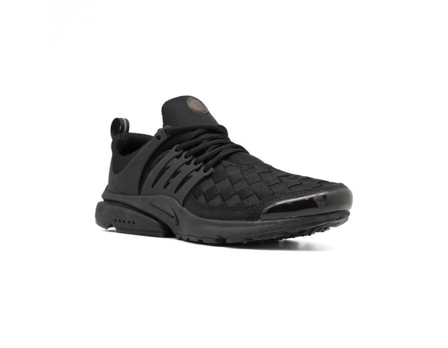 Мужские кеды Nike Air Presto Woven черные