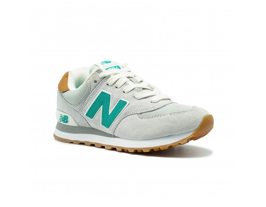 New Balance Женские 574 Premium Cruisin Light Grey