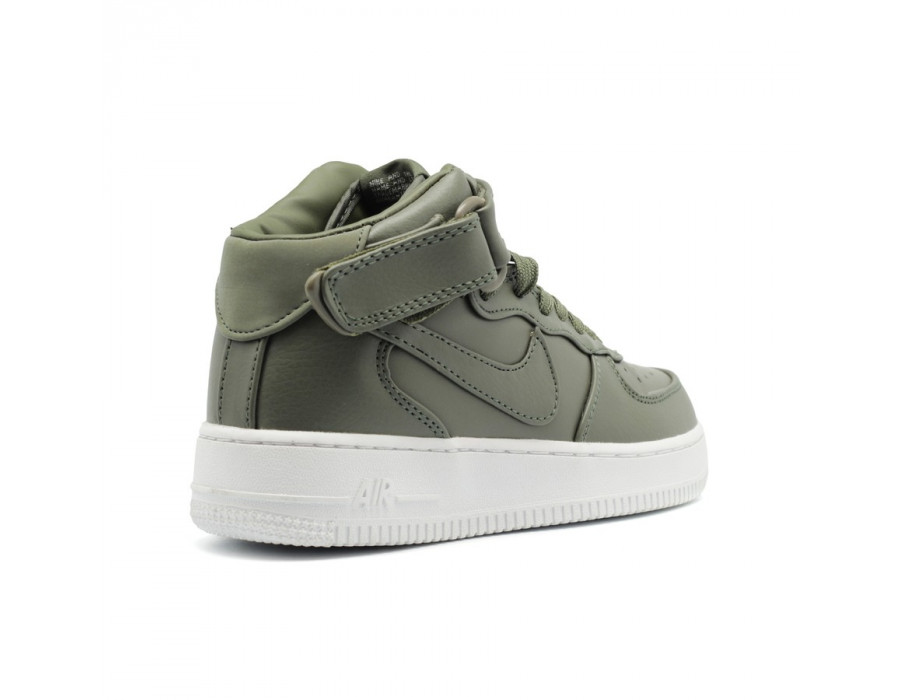 Женские кроссовки NikeLab Air Force 1 Mid Women Urban Haze