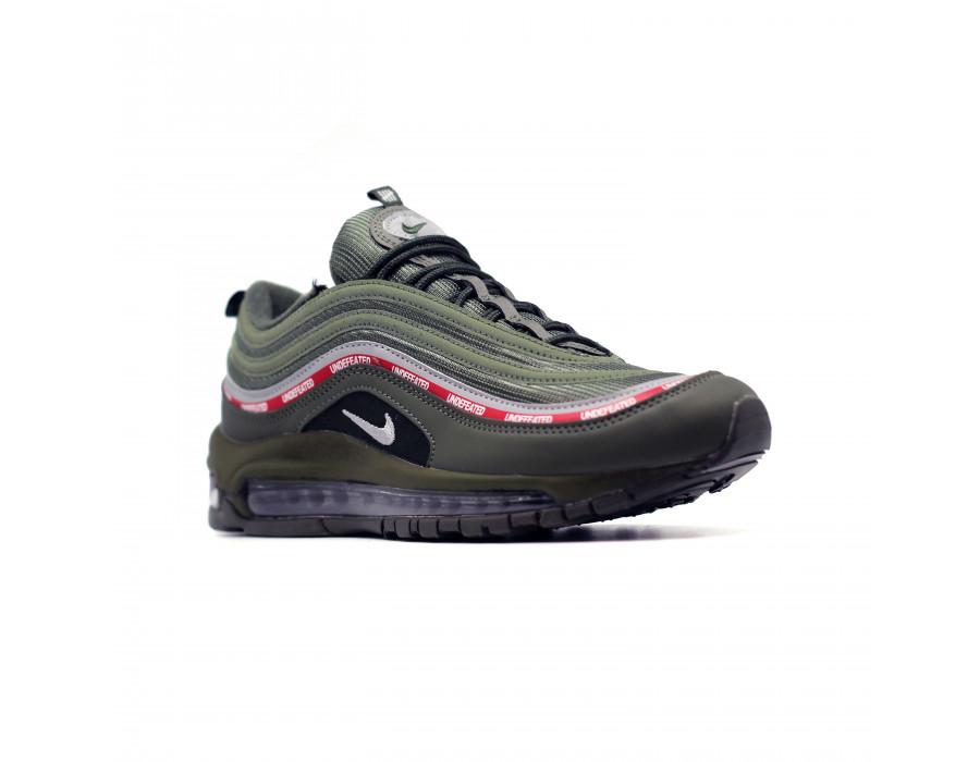 Мужские кеды Nike Air Max 97 зеленые