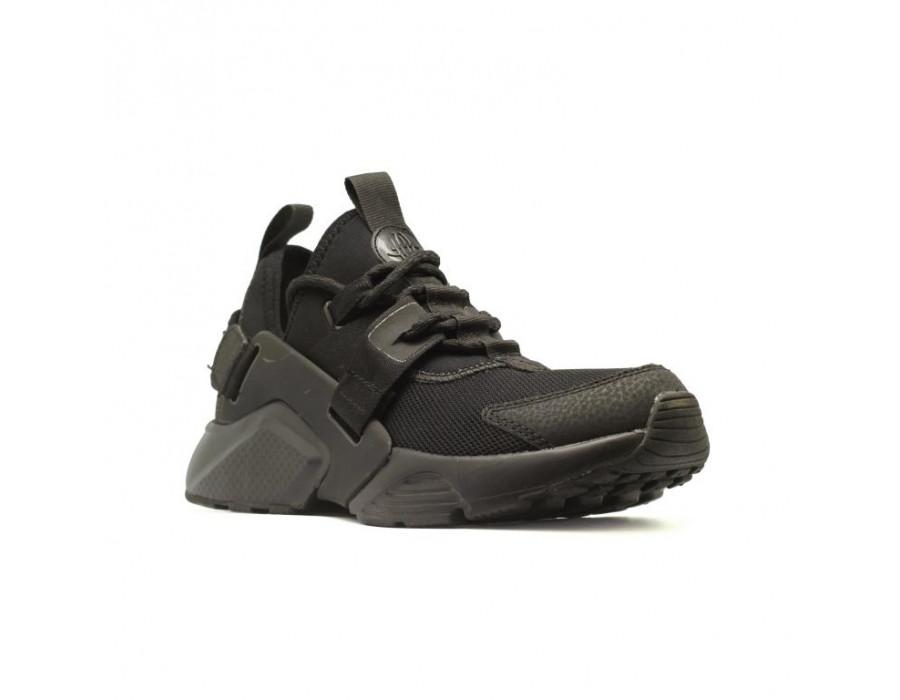 Мужские кеды Nike Air Huarache X черные