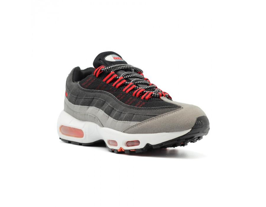 Мужские кроссовки Nike Air Max 95 Red-Black-Grey