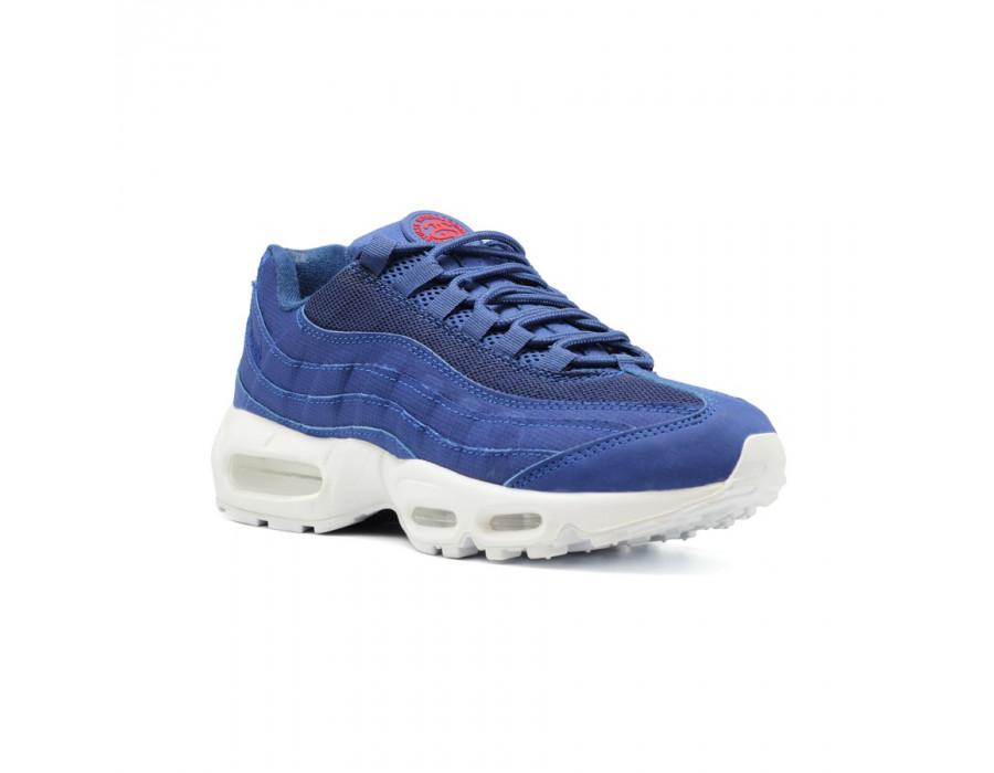 Мужские кеды Nike Air Max 95 голубые