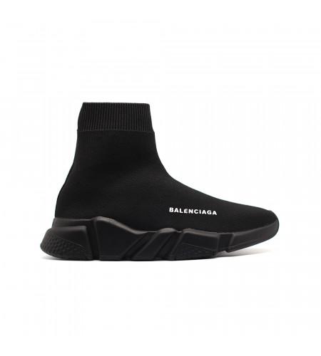 Женские кеды Balensiaga Speed Trainer Total Black черные