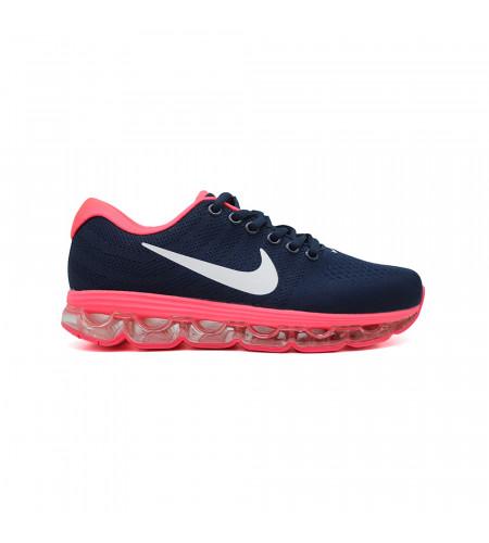 Женские кеды Nike Air Max 2018 Navy Pink