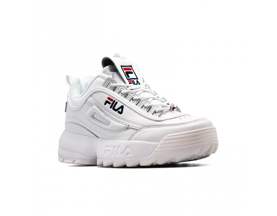 Мужские кеды FILA Disruptor 2 White белые