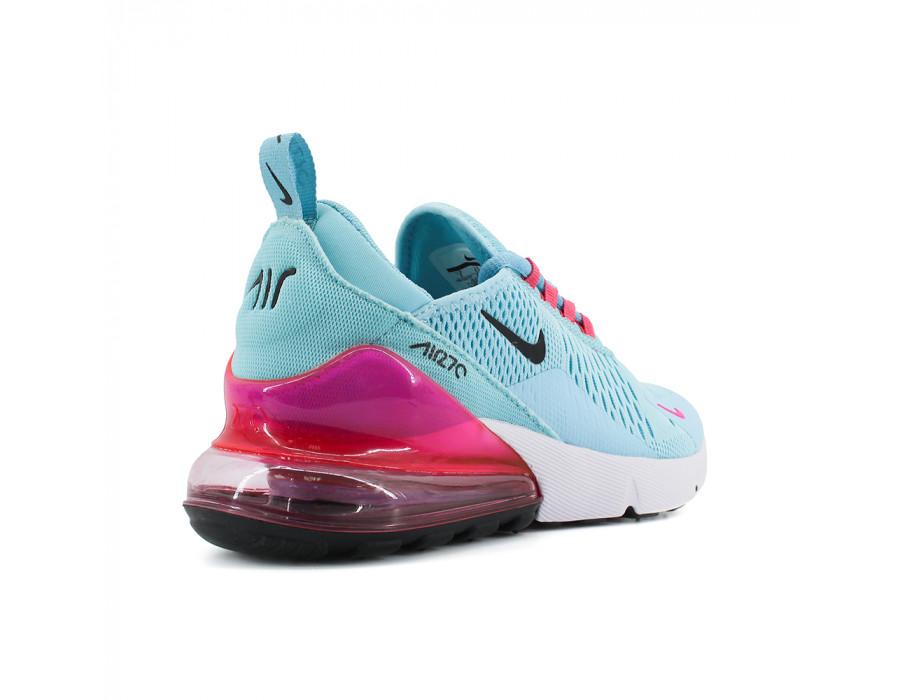 Купить женские кроссовки Nike Air Max 270 Blue-Fuchsia за 5790 рублей!