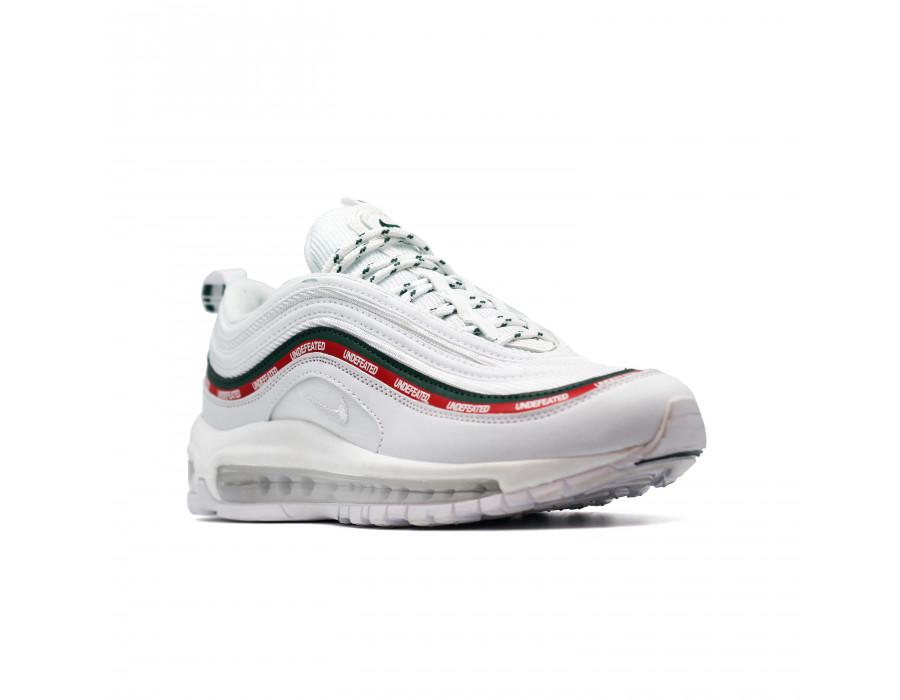 Женские кеды Nike Air Max 97 Undefeated белые