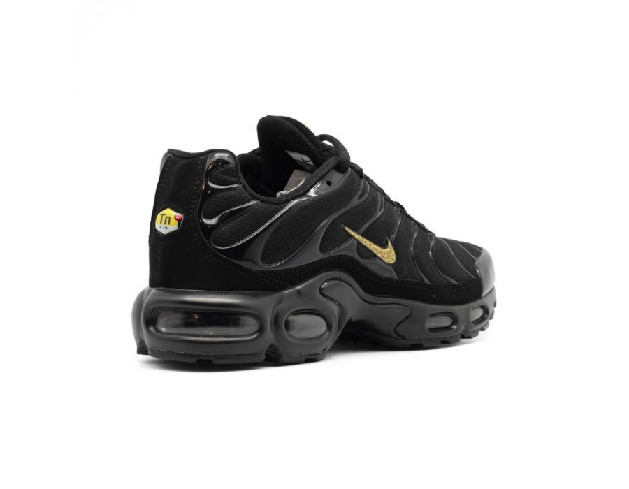 Мужские кроссовки Nike Air Max Plus (TN) Black-Gold
