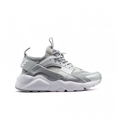 Женские кеды Nike Air Huarache Ultra серебряные
