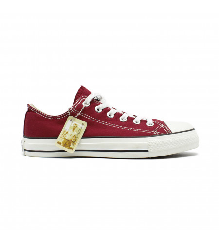 Женские кеды Converse All Star Chuck Taylor Low Bordeaux красные