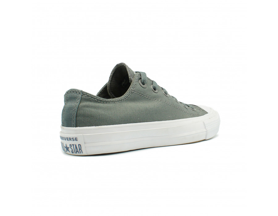 Женские кеды Converse All Star ll Chuck Taylor Low Grey серые
