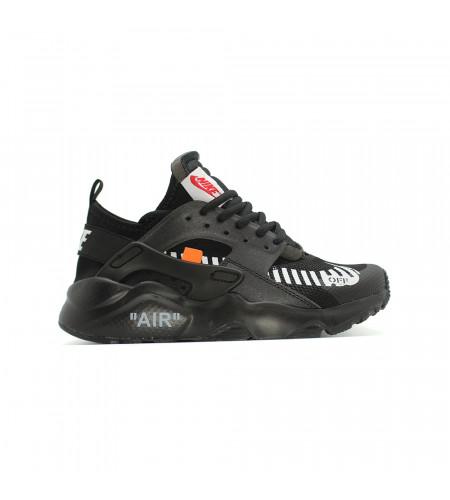 Купить Женские кроссовки Nike Air Huarache Ultra x OFF White The Ten Black за 6190 рублей!