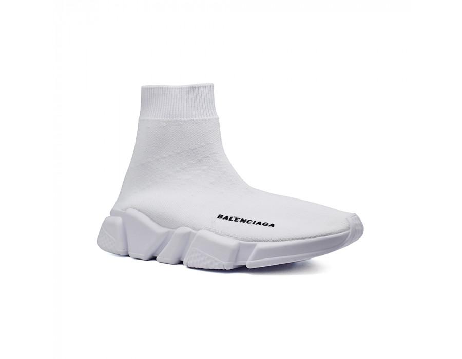 Женские кеды Balensiaga Supreme Speed Trainer белые