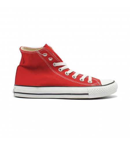 Мужские кеды Converse All Star Chuck Taylor High Red красные
