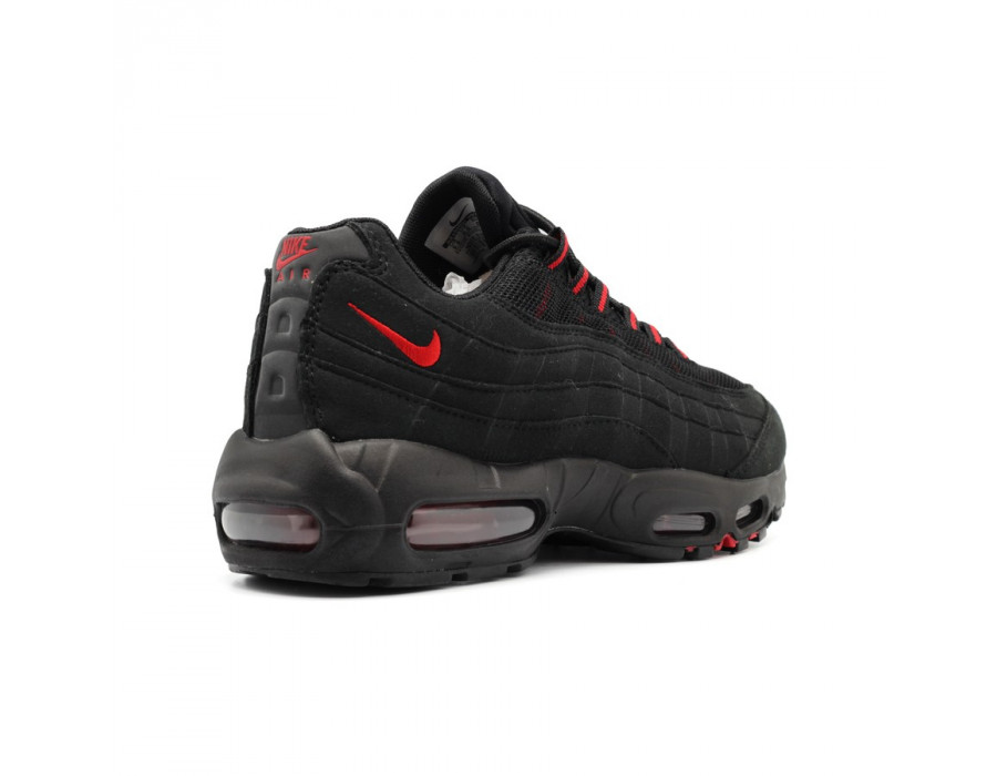 Мужские кроссовки Nike Air Max 95 Black-Red 2