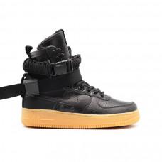 Женские кроссовки Nike SF AF1 Special Field Air Force 1 Women Black 4b8c12f8ec1