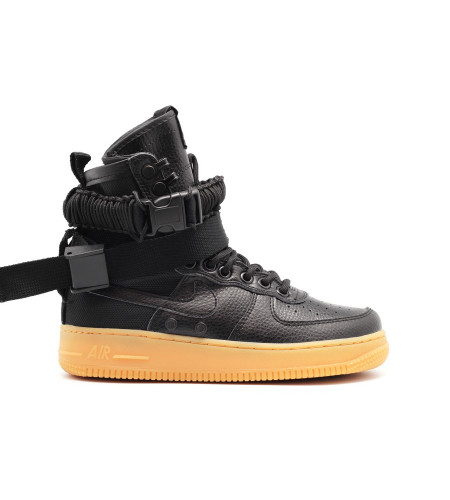 Женские кроссовки Nike SF AF1 Special Field Air Force 1 Women Black