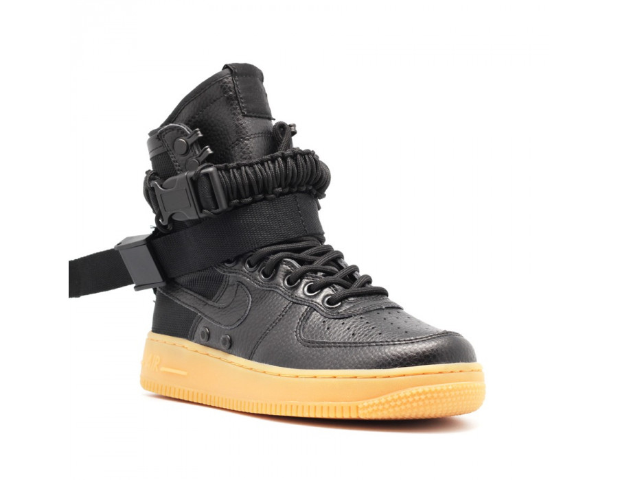 Женские кроссовки Nike SF AF1 Special Field Air Force 1 Women Black