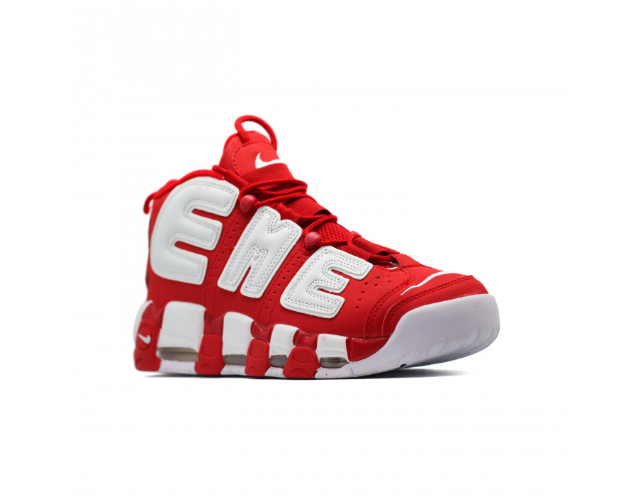 Мужские кеды Nike Air Max Uptempo 96 красно белые