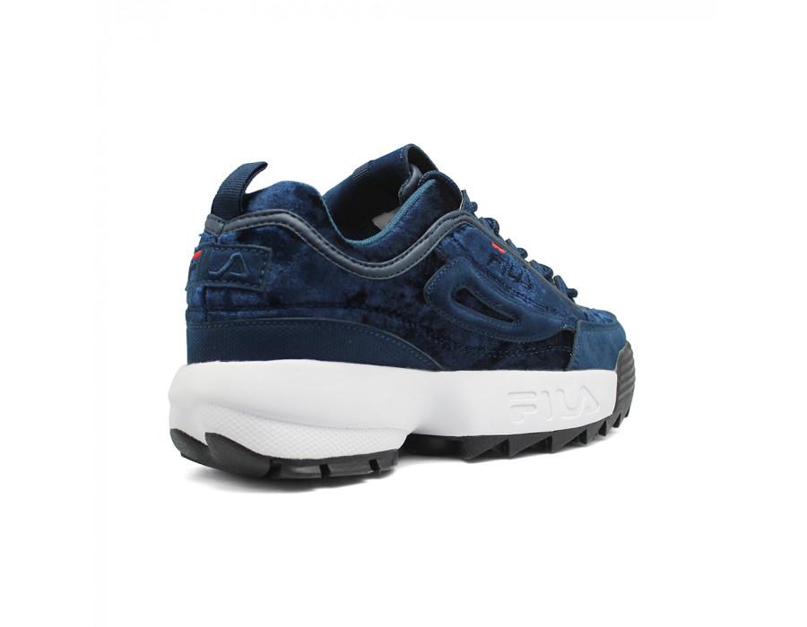 Женские кроссовки FILA Disruptor 2 темно-синие