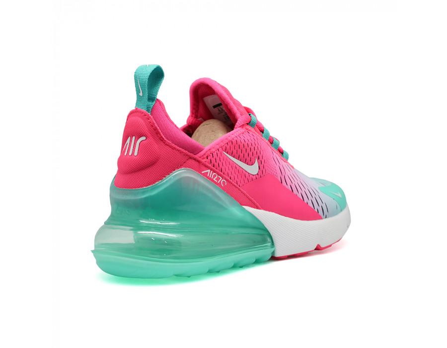 Купить женские кроссовки Nike Air Max 270 Pink-Mint за 5790 рублей!