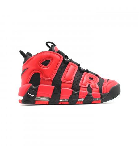 Мужские кеды Nike Air Max Uptempo 96 черно красные