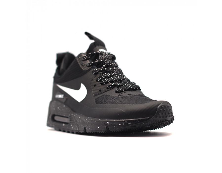 Купить Женские кроссовки Nike Air Max 90 Premium Black за 5490 рублей!