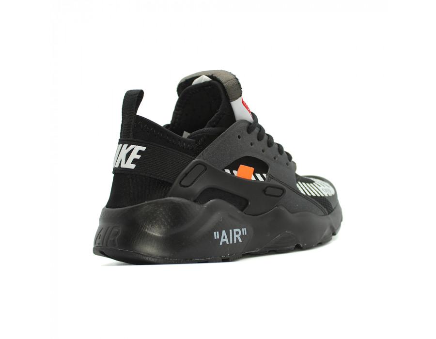Купить Мужские кроссовки Nike Air Huarache Ultra x OFF White Black за 6790 рублей!