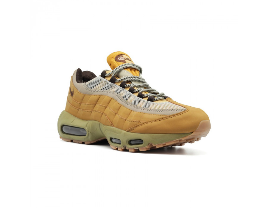Мужские кроссовки Nike Air Max 95 Leather Begie