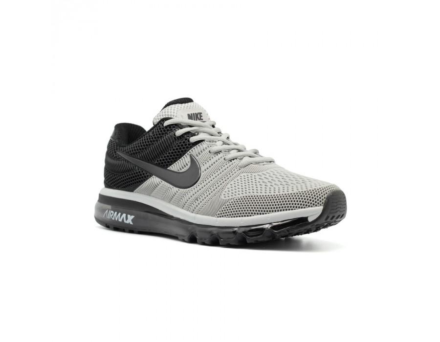 Мужские кроссовки Nike Air Max 2017 Grey-Black