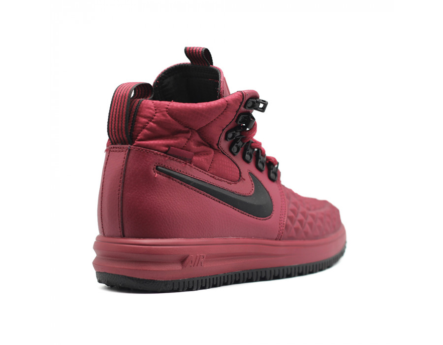 Купить мужские кроссовки Nike Lunar Force 1 Duckboot`17 Bordeaux -beinkeds.ru